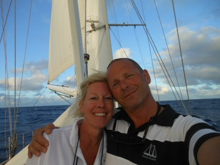 Crossing the Atlantic ocean on a 110 ft sailing vessel